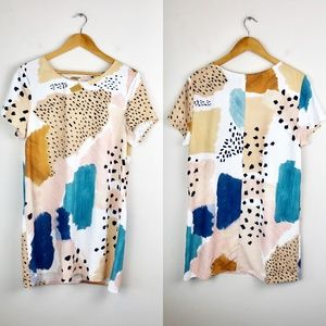 MINKPINK Watercolor Shift Dress